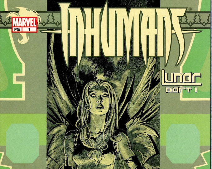 Inhumans #1 (4th Series 2003) June 2003  Marvel Comics   Grade NM