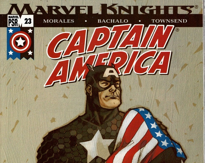 Captain America #23 (4th Series) April 2004  Marvel Comics  Grade NM