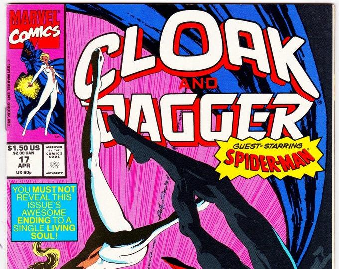 Cloak and Dagger #17 (3rd Series 1988) April 1991   Marvel Comics   Grade NM