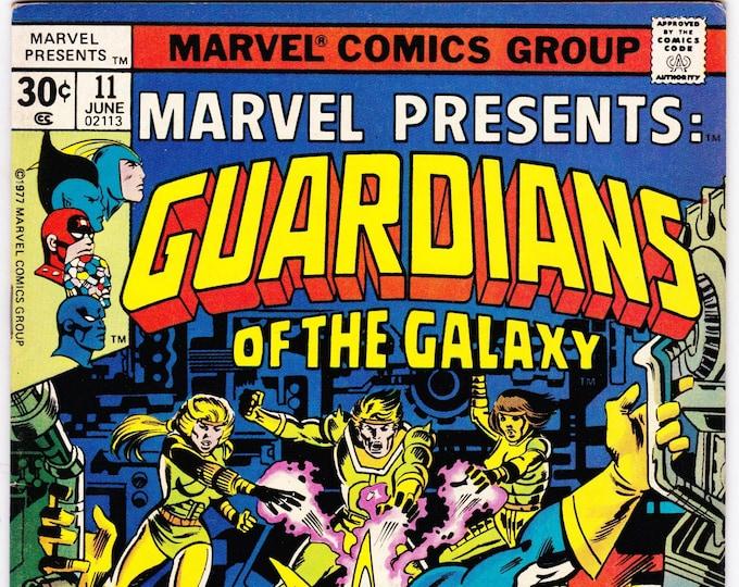 Marvel Presents #11  June  1977   Marvel Comics   Grade Fine
