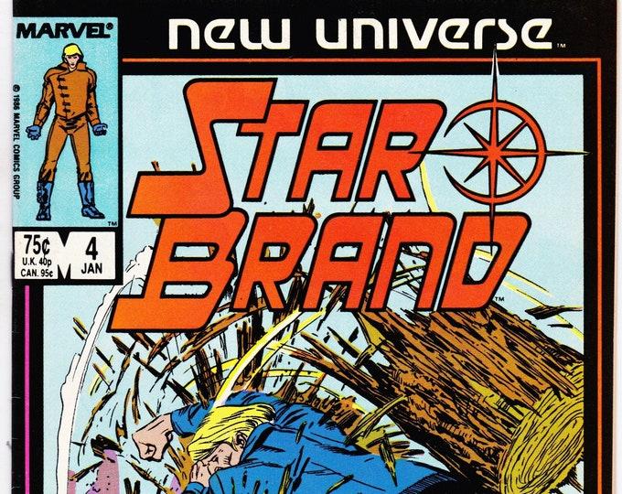 StarBrand #4     January  1987     New Universe Comics   Grade NM