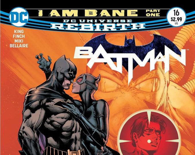 Batman #16 (I Am Bane) April 2017 DC Comics Grade NM