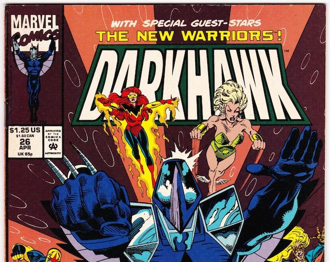 Darkhawk #26    April  1993   Marvel Comics   Grade VF