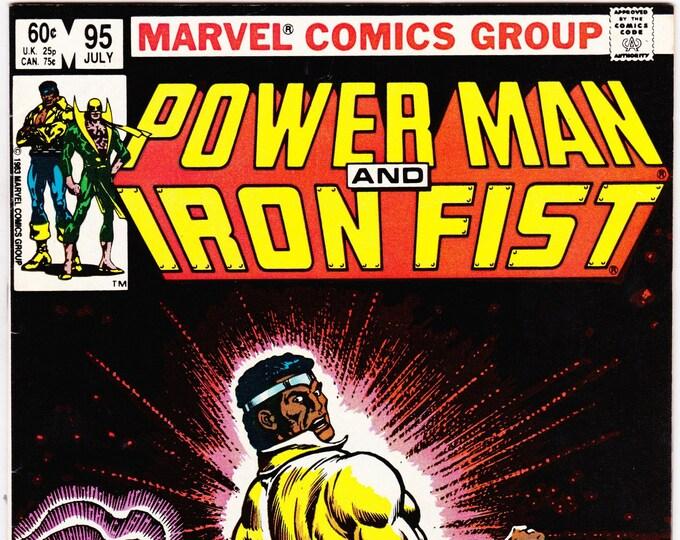 Power Man and Iron Fist #95   July 1983    Marvel Comics   Grade NM