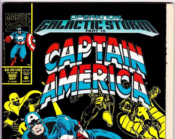 Captain America #400 (1st Series 1968) May 1992     Marvel Comics     Grade NM