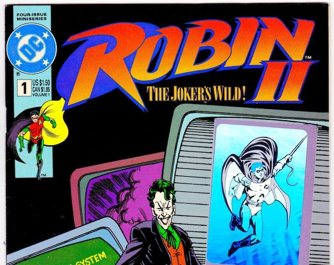 Robin 2 The Joker's Wild  #1A    December 1991   DC Comics   Grade NM