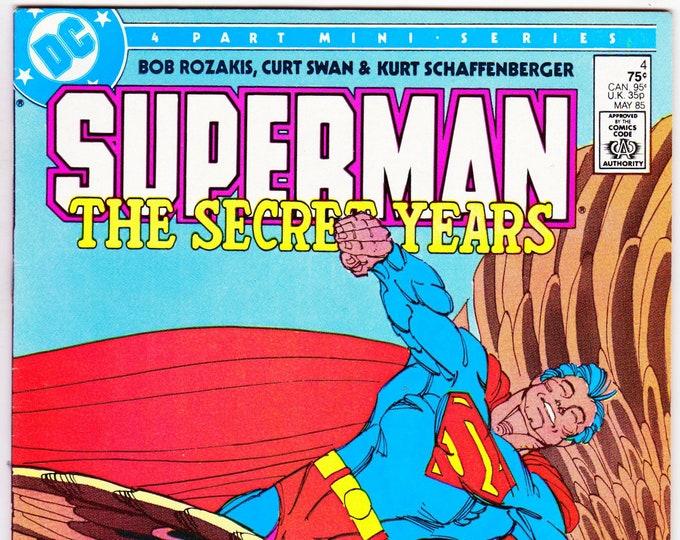 Superman The Secret Years #4  May 1985     DC Comics    Grade NM