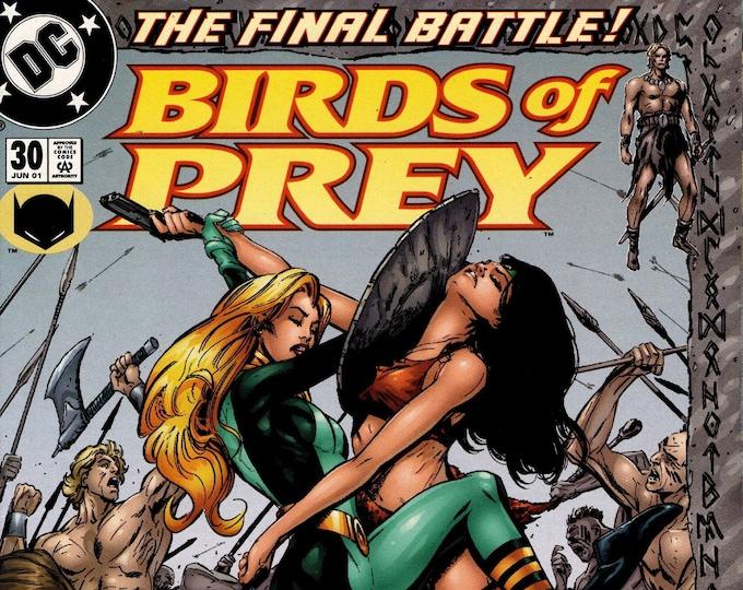 Birds of Prey #30 June 2001  DC Comics  Grade NM
