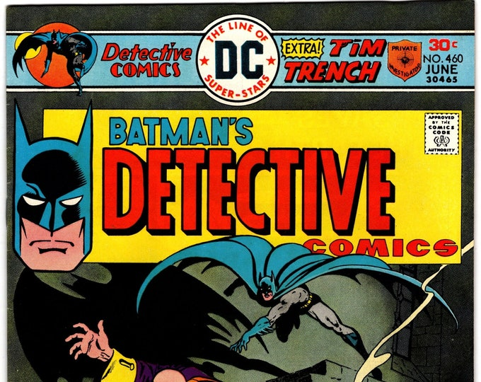 Detective Comics # 460 (1st Series 1938) June 1976  DC Comics  Grade NM