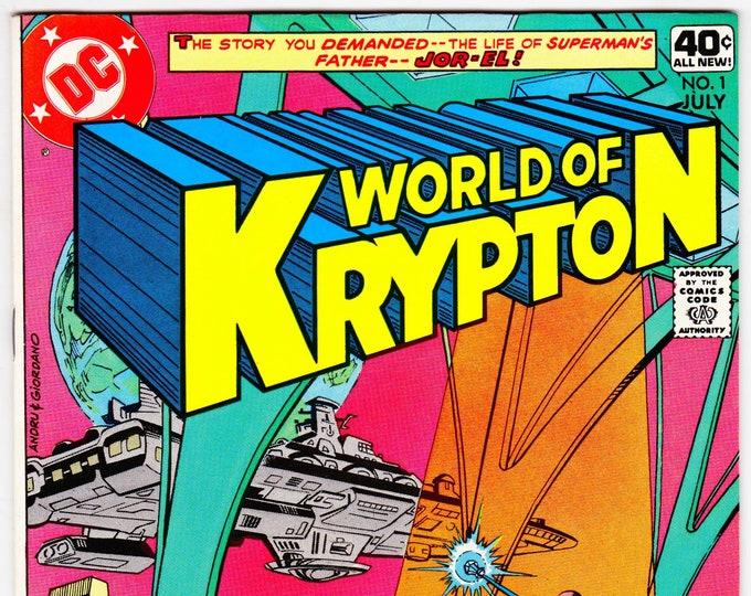 World of Krypton #1 (1st Series 1979) July 1979    DC Comics    Grade VF/NM