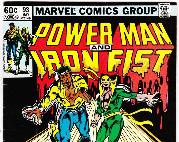 Power Man and Iron Fist #93  May 1983    Marvel Comics   Grade NM