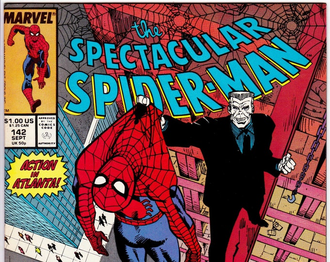 Spectacular Spider Man #142  September 1988  Marvel Comics  Grade NM