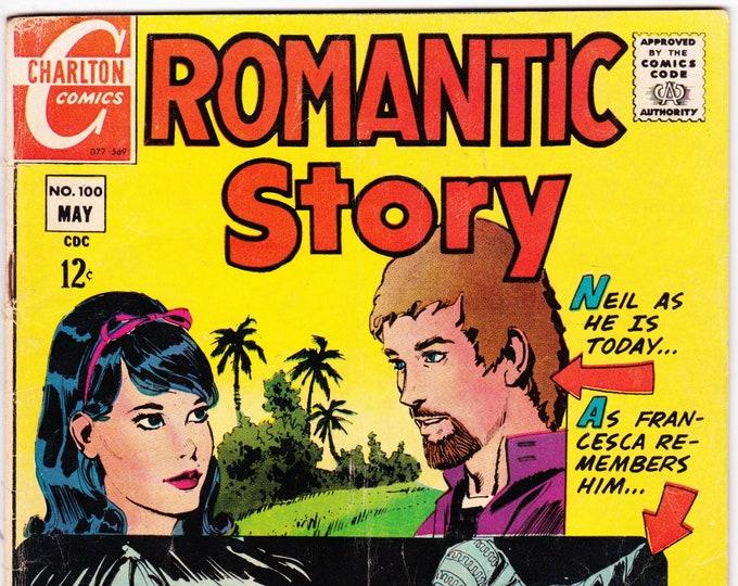 Romantic Story #100 (1st Series 1949) May 1969  Charlton Comics   Grade Fine
