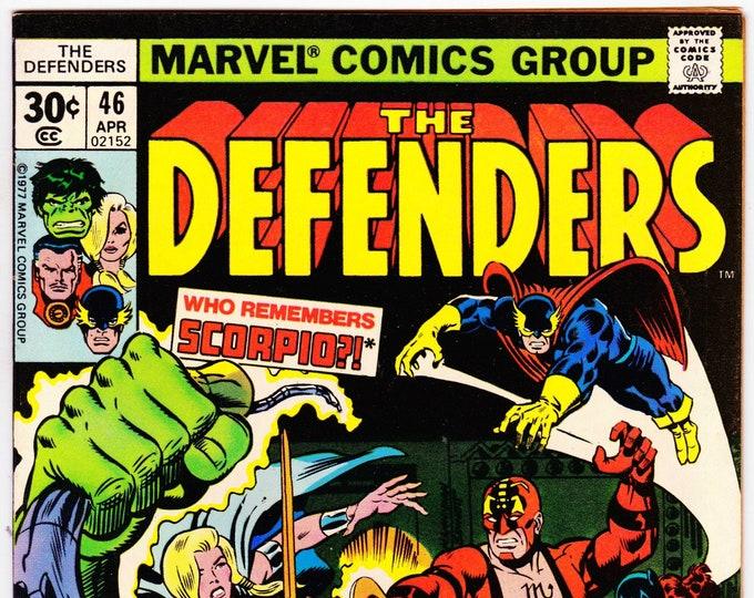 Defenders #46 (1st Series 1972) April 1977   Marvel Comics   Grade NM