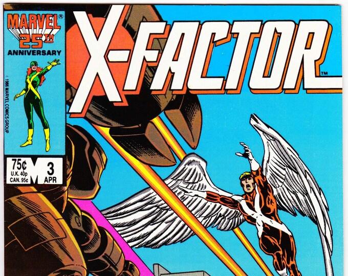 X-Factor #3    April 1986     Marvel Comics   Grade NM
