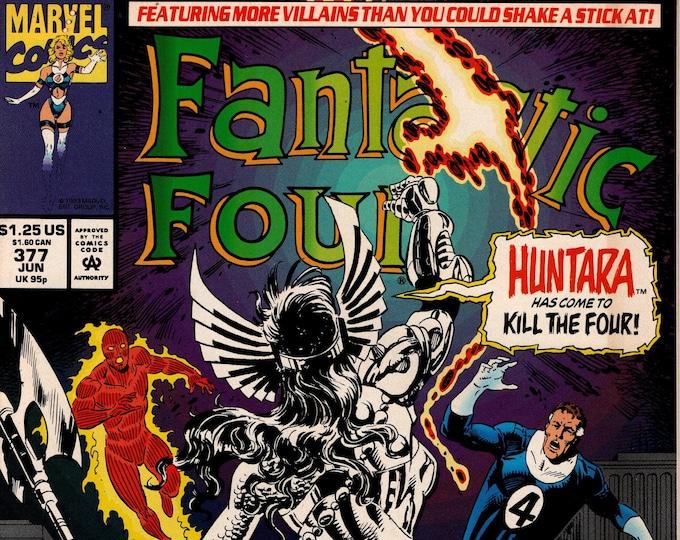 Fantastic Four #377  June 1993  Marvel Comics  Grade VF