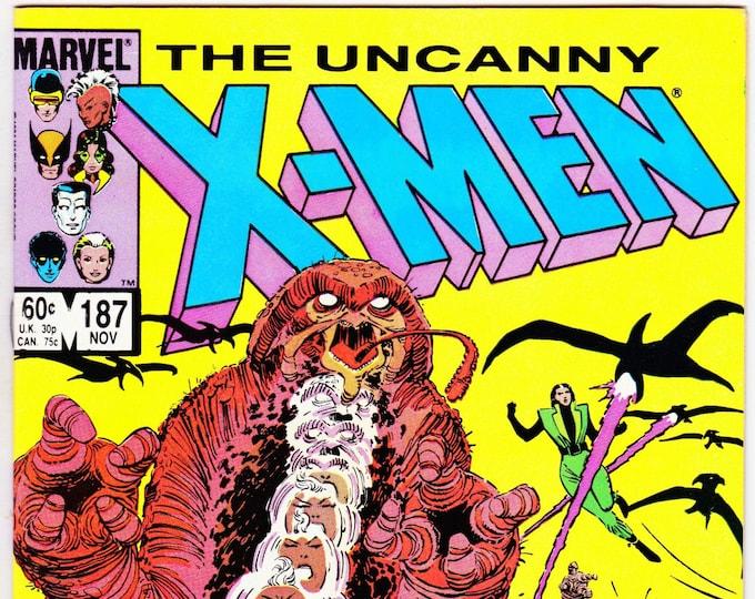 Uncanny X-Men #187  November 1984  Marvel Comics  Grade NM