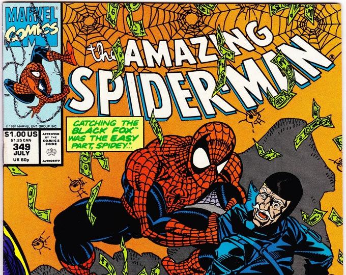 Amazing Spider-Man #349 (1st Series 1963) July 1991    Marvel Comics   Grade NM