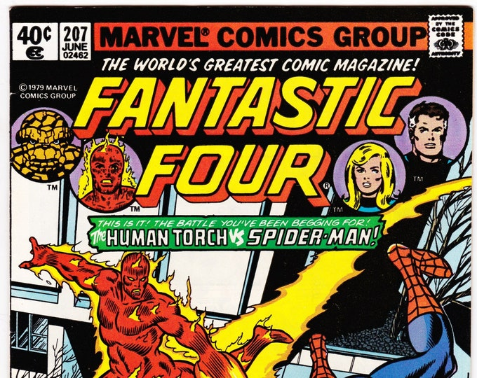 Fantastic Four #207 (1st Series 1961) June 1979   Marvel Comics   Grade NM