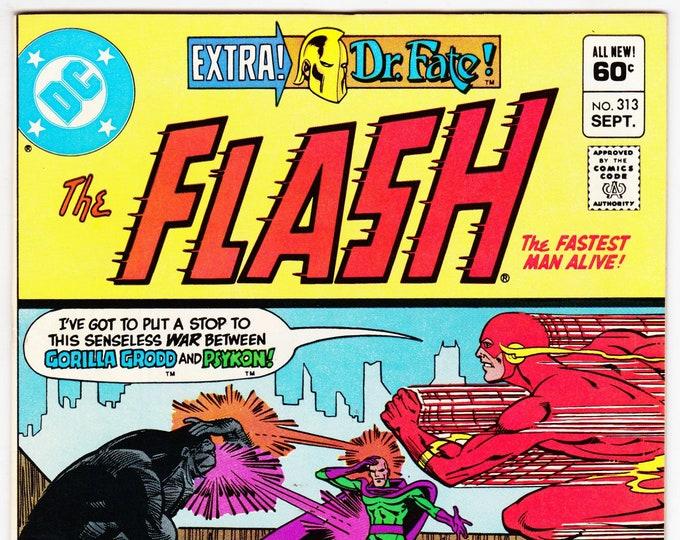 Flash #313 (1st Series 1959) September 1982    DC Comics    Grade NM