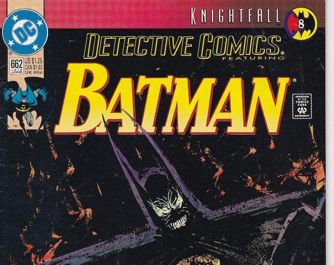 Detective Comics #662    June 1993   DC Comics   Grade NM