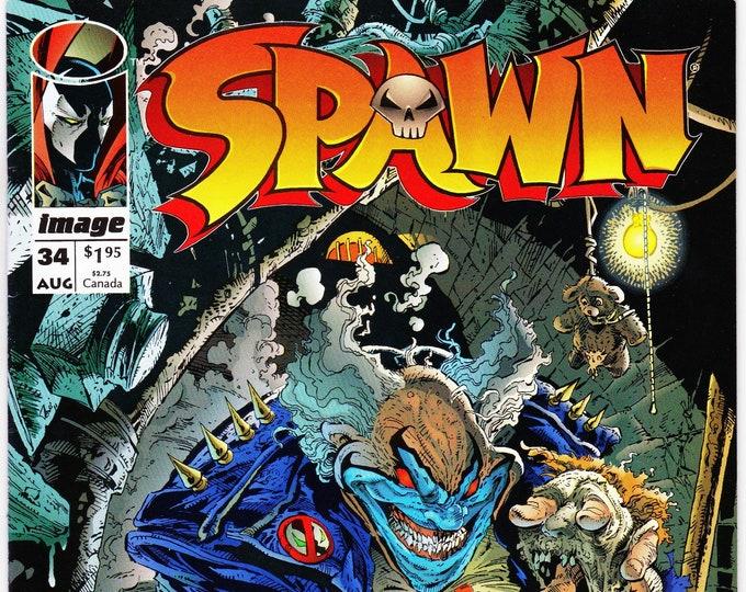 Spawn #34    August 1995   Image Comics   Grade NM