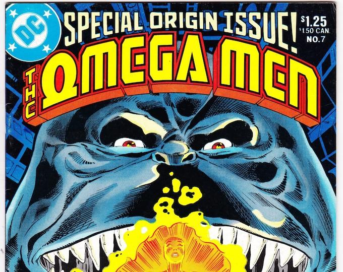 Omega Men #7 (1st Series 1983) October 1983   DC Comics   Grade VF