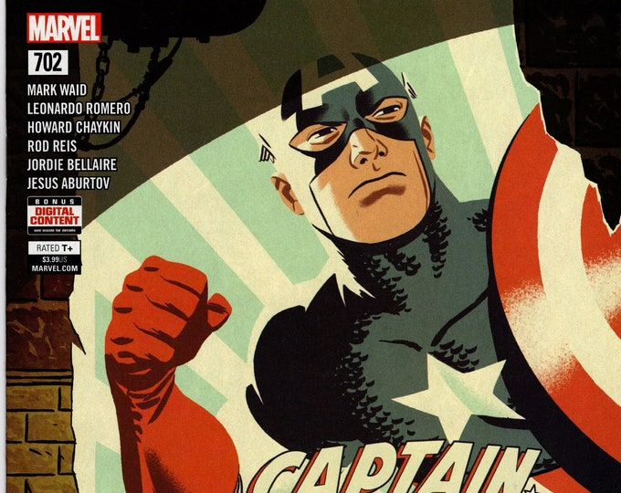 Captain America #702 Cover A July Issue Marvel Comics  Grade NM