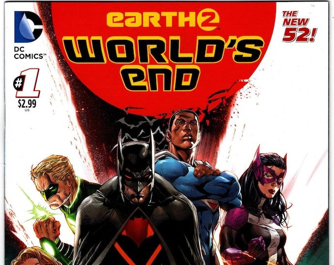 Earth 2 Worlds End #1A    December  2014   DC Comics  Grade NM