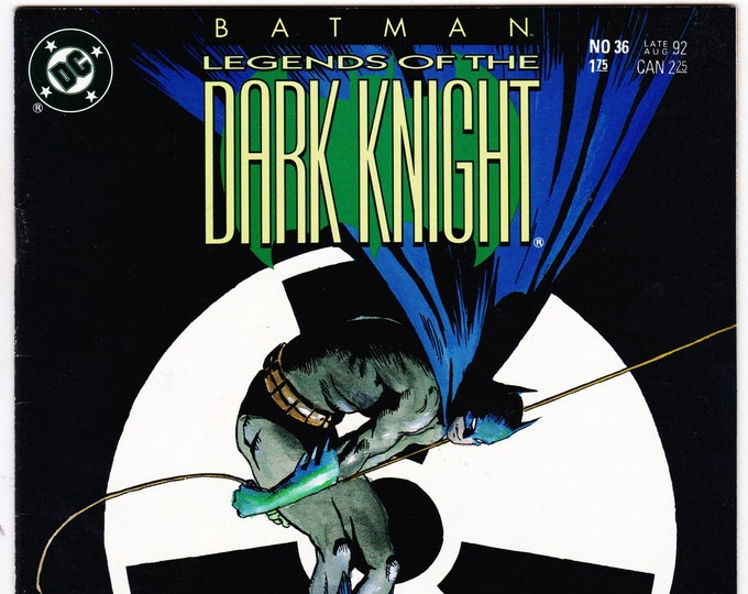 Batman Legends of the Dark Knight #36    August 1992   DC Comics   Grade NM