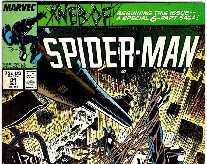 Web of Spider-Man #31 (1st Series 1985) October 1987  Marvel Comics  Grade VF-