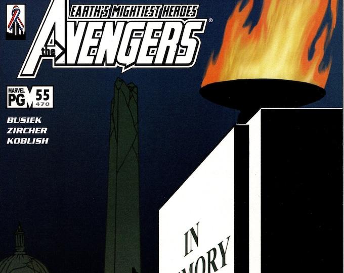Avengers #55 August 2002 Marvel Comics  Grade NM