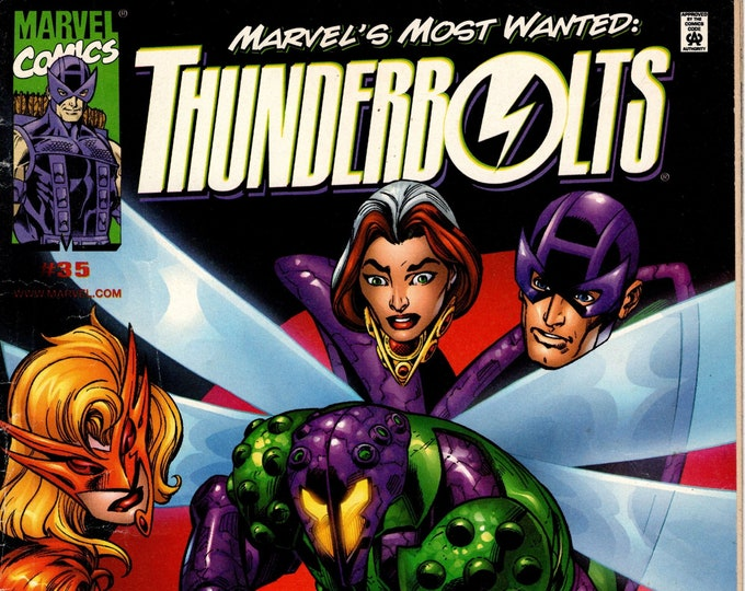 Thunderbolts #35  February 2000 Marvel Comics  Grade VG