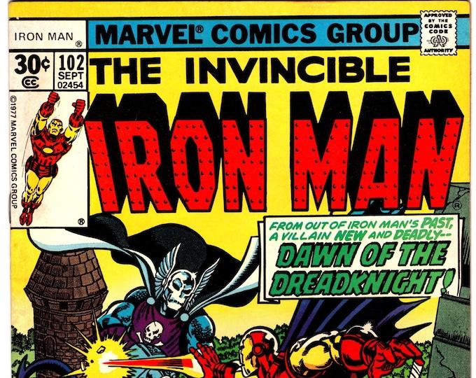 Iron Man #102 (1st Series 1968 ) September 1977    Marvel Comics  Grade NM