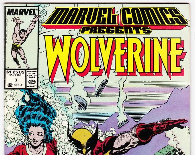 Marvel Comics Presents #7 (1988) November 1988   Marvel Comics   Grade VF
