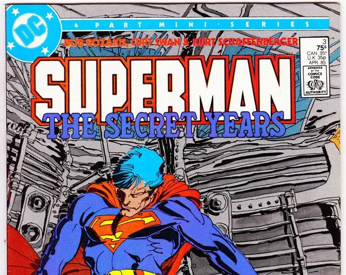 Superman The Secret Years #3   April 1985     DC Comics    Grade NM