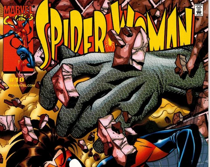Spider-Woman #10 (3rd Series) April 2000 Marvel Comics Grade VF