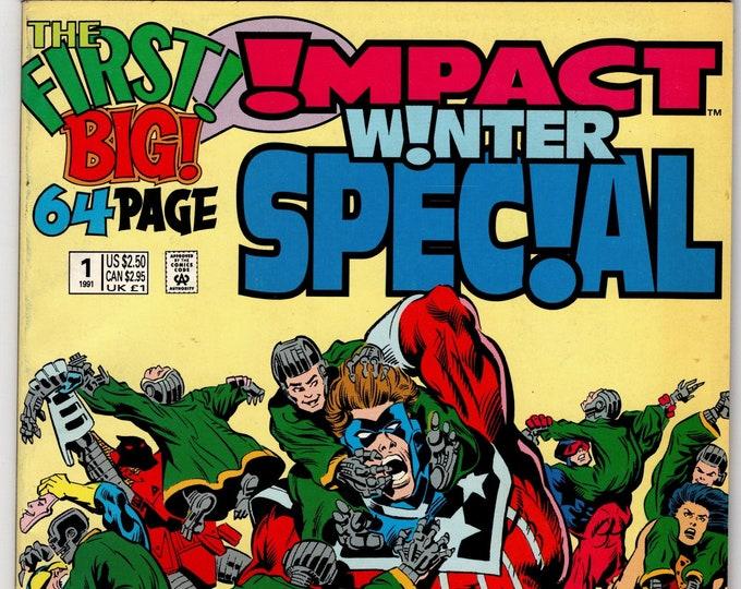 Impact Winter Special #1   1991   DC Comics   Grade NM
