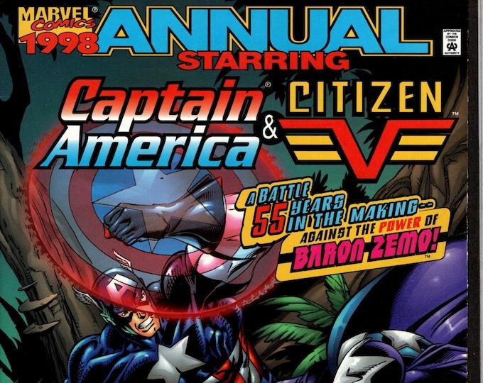Captain America Annual #1998 (1998 3rd Series) Marvel Comics  Grade VF