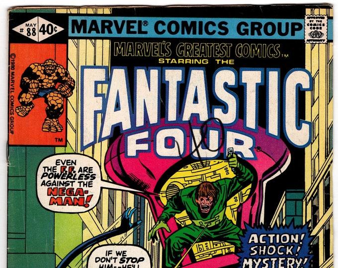Marvel's Greatest Comics #88 (1st Series 1969) May 1980  Marvel Comics  Grade Fine
