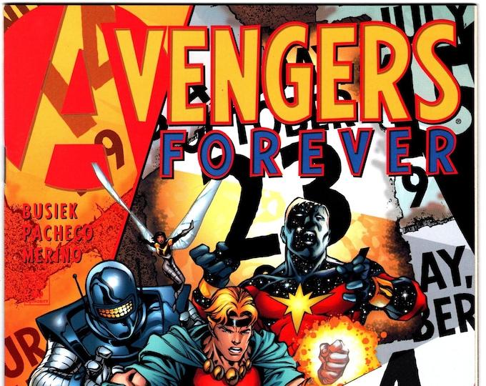 Avengers Forever #5  April 1999  Marvel Comics  Grade NM