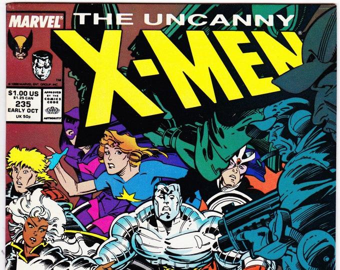 Uncanny X-Men #235   October 1988    Marvel Comics   Grade NM