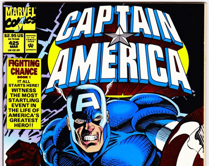 Captain America #425 (1st Series 1968) March 1994     Marvel Comics     Grade NM