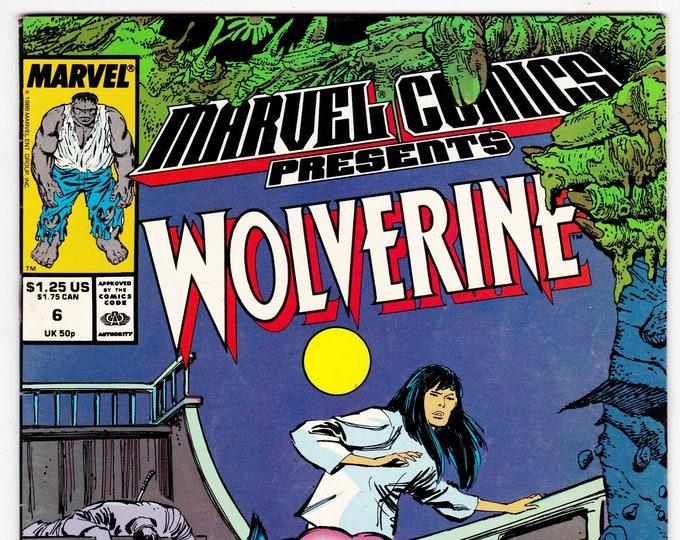 Marvel Comics Presents #6 (1988) November 1988   Marvel Comics   Grade VF