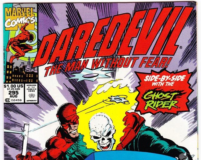 Daredevil #295 (1st Series 1964) August 1991    Marvel Comics    Grade VF/NM