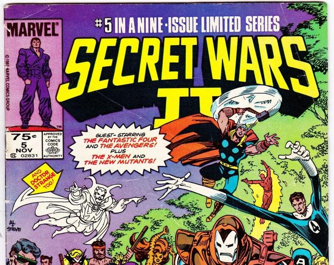 Secret Wars II #5 (1985 Series) November 1985    Marvel Comics   Grade VG