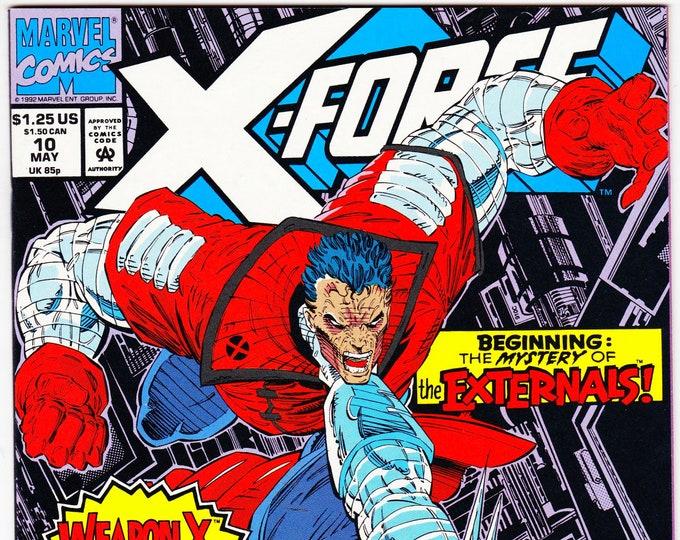 X-Force #10 (1st Series 1991) May 1992    Marvel Comics   Grade NM