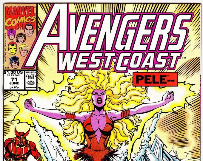 Avengers West Coast #71 (1985) June 1991   Marvel Comics   Grade NM
