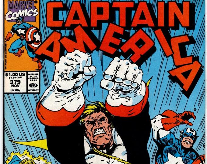 Captain America #379 (1st Series 1968) November 1990   Marvel Comics   Grade VF-