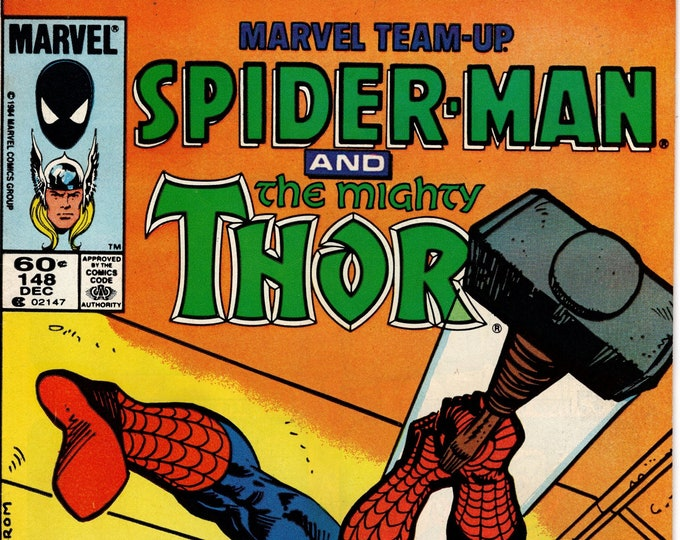Marvel Team-Up #148 (1972 1st Series) December 1984   Marvel Comics   Grade Fine